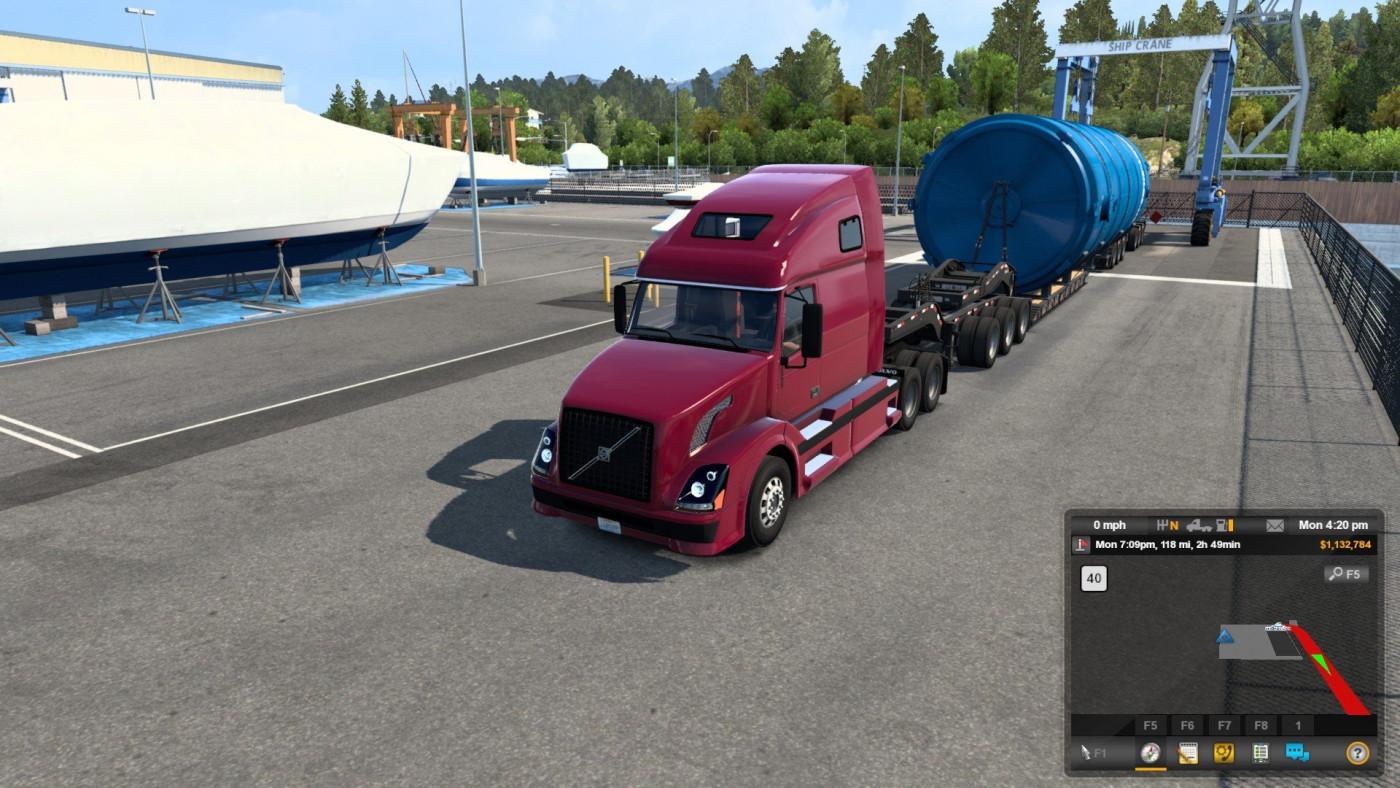 special transport aradeth vnl 670