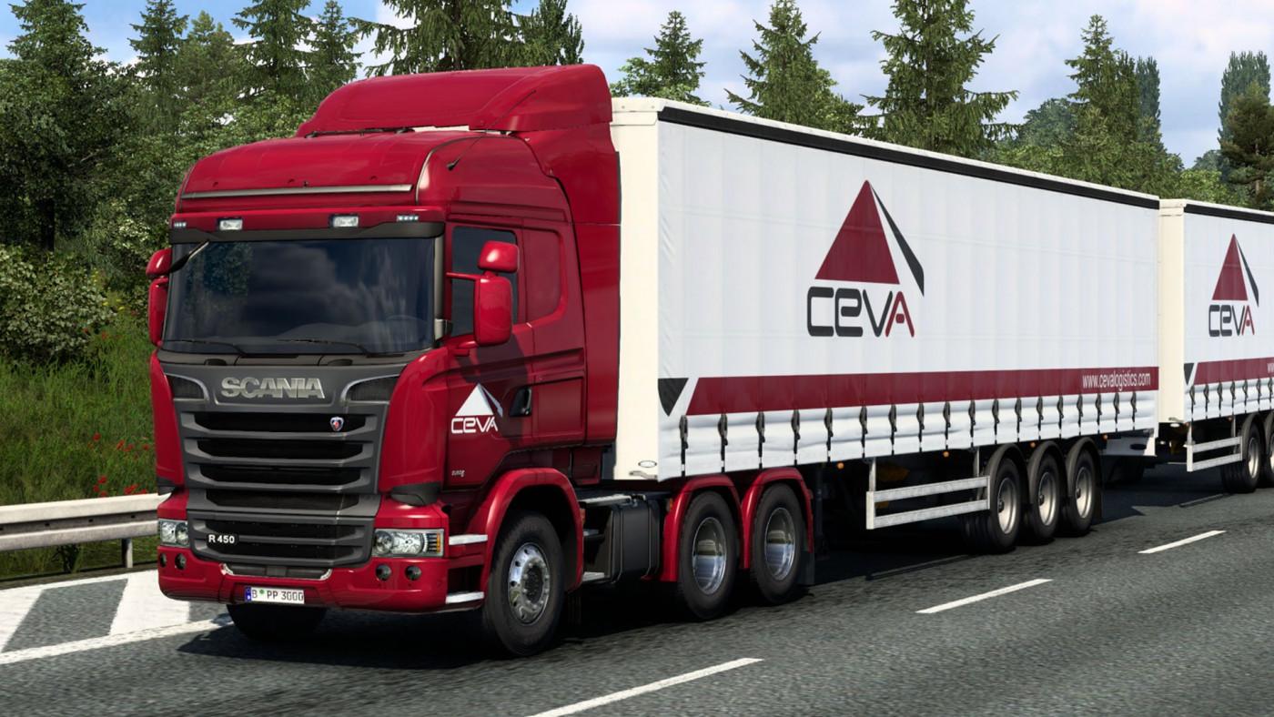 Scania Streamline & SCS Box Trailer