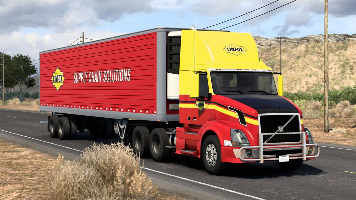 Volvo VNL & SCS Box Trailer