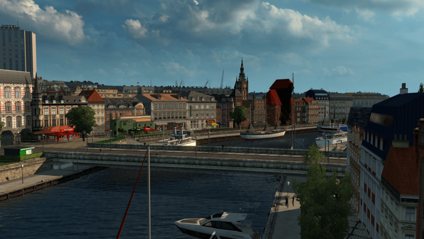 Gdańsk - The Crane