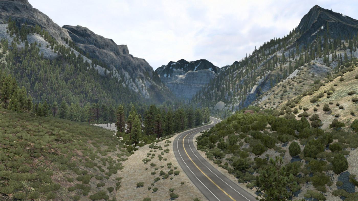 Tioga Pass Rd, California, USA