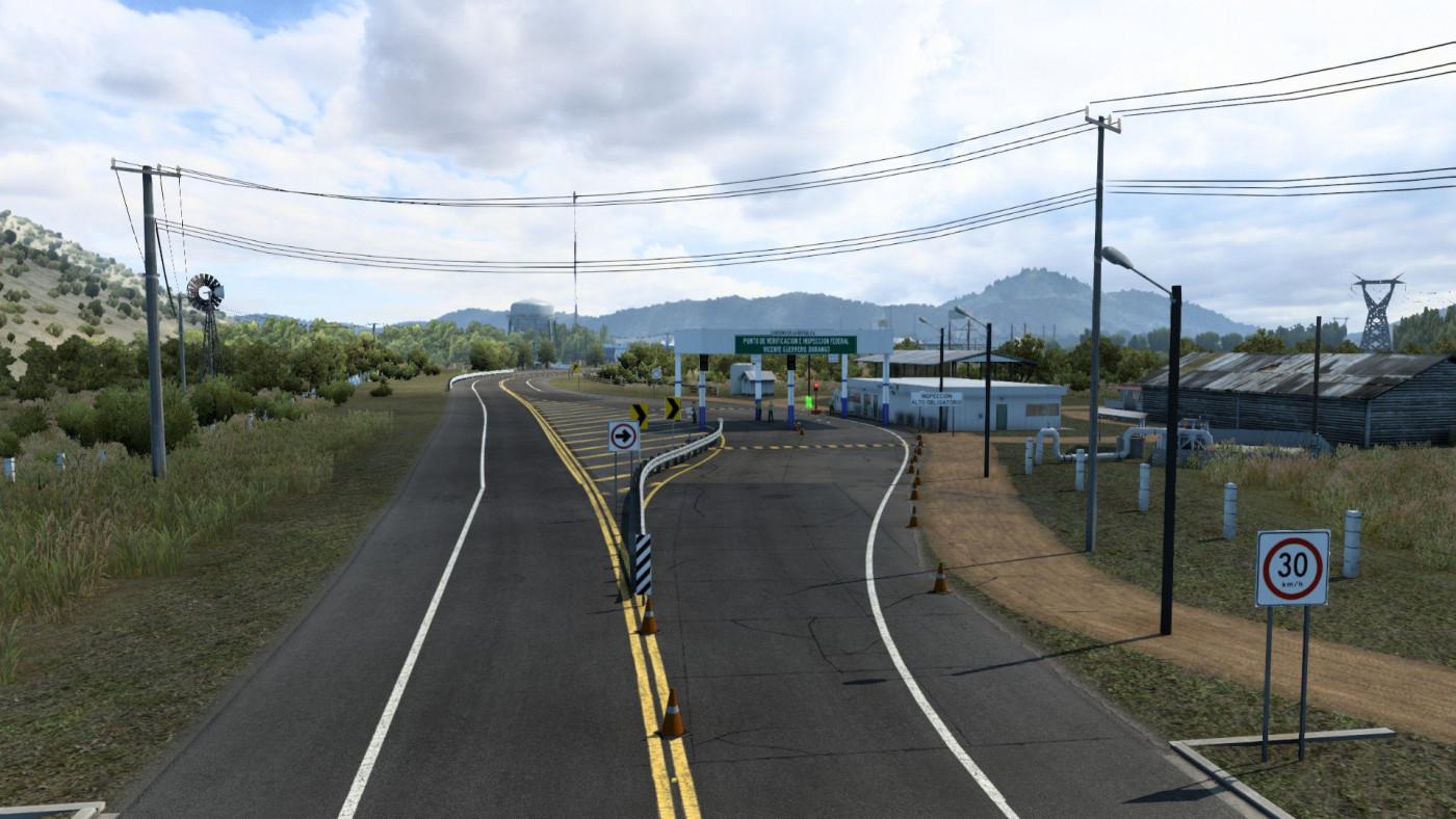 Vicente Guerrero checkpoint