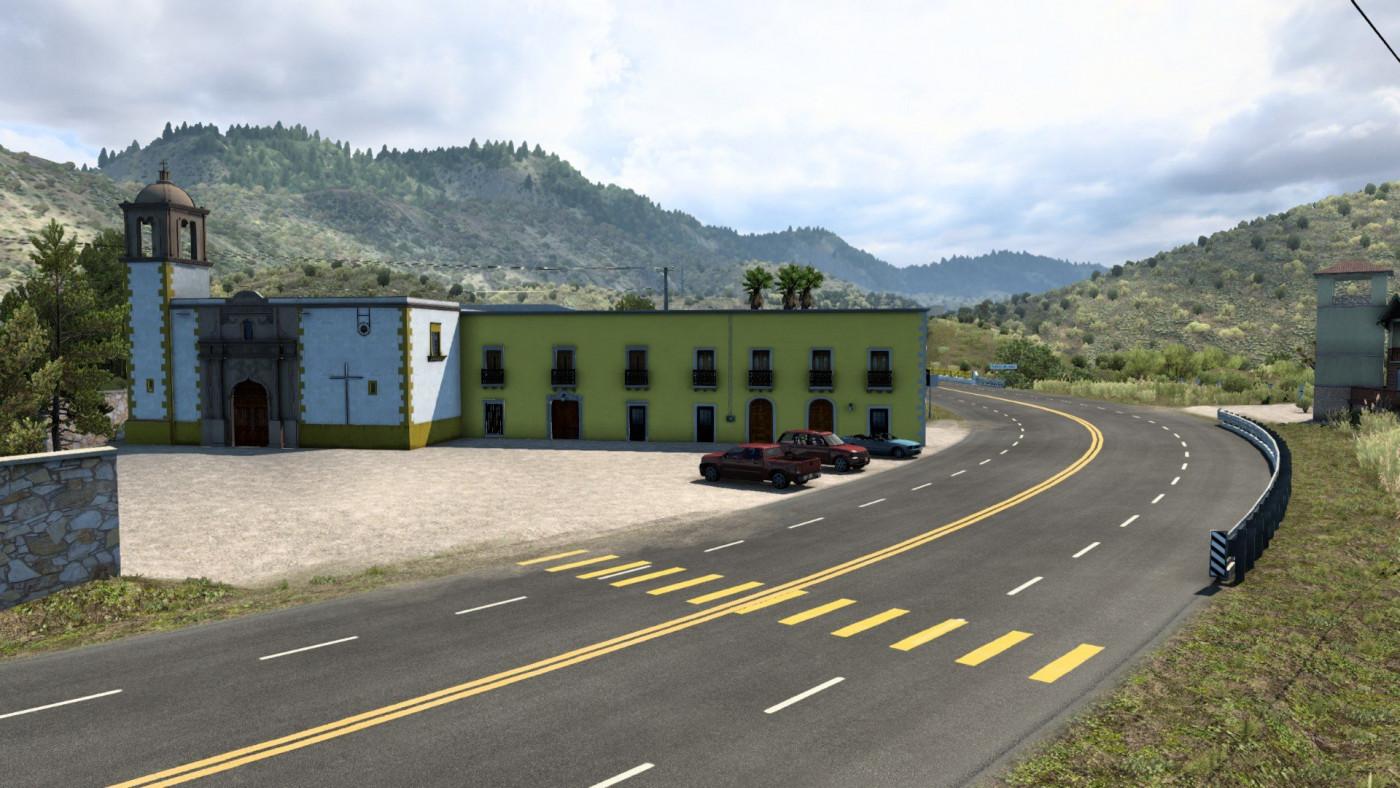 Villa Union church Durango, Mexico