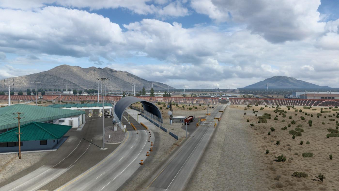 US-Mexico border, San Jeronimo-Santa Teresa