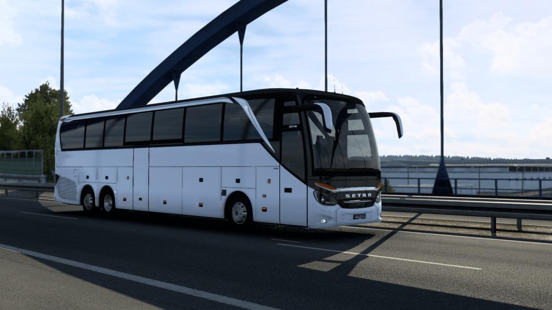 Setra s517 HDH-2021 Topclass  (1.40 - 1.41 versiyon)