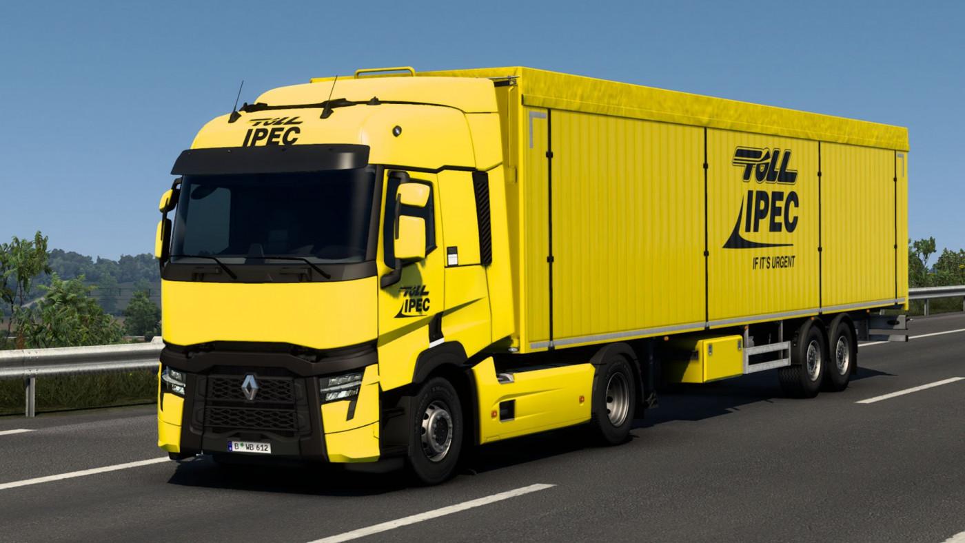 Renault T & SCS Box Trailer