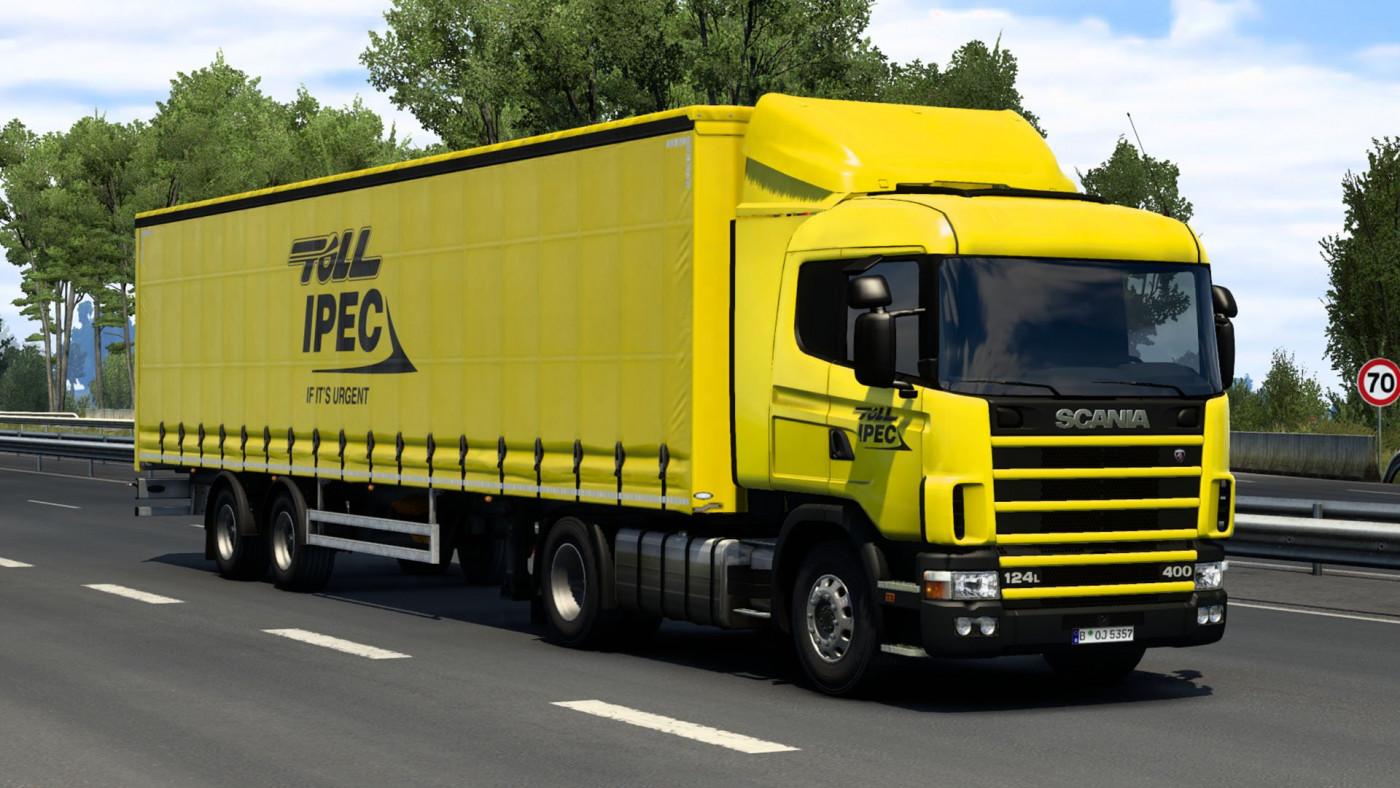 RJL's Scania R 4-series & SCS Box Trailer