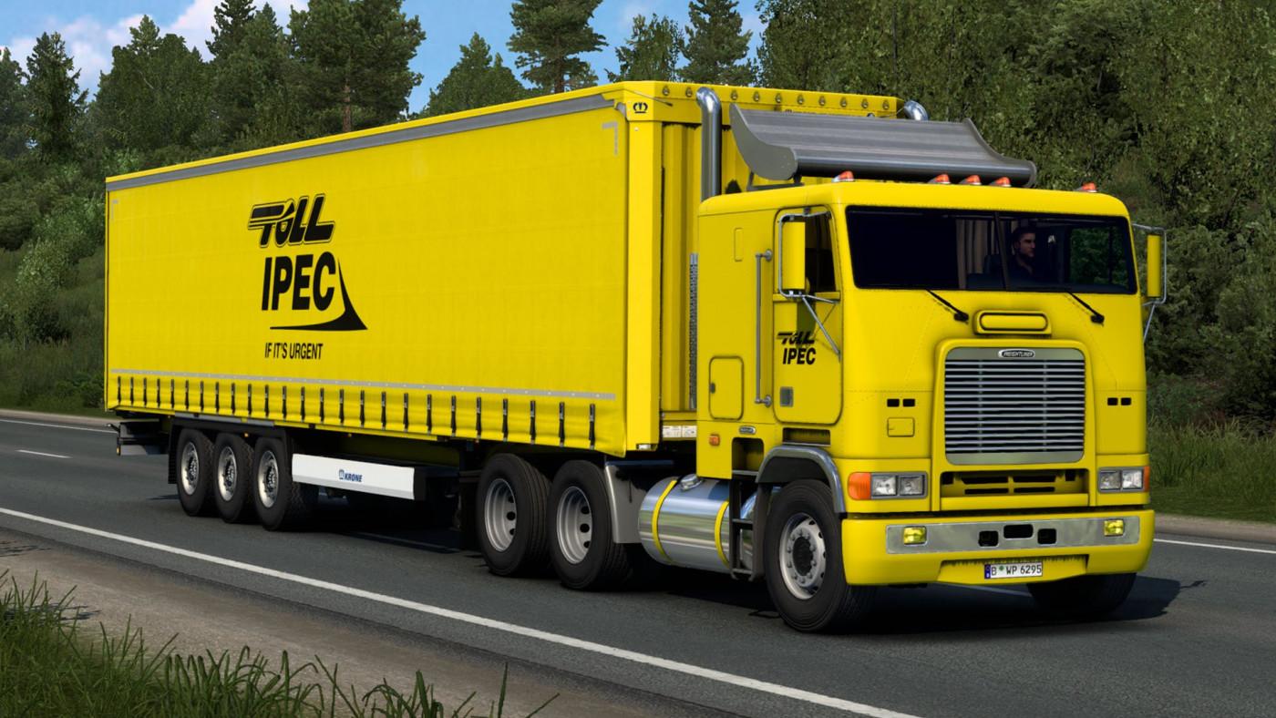 Harven's Freightliner FLB & Krone Profi Liner