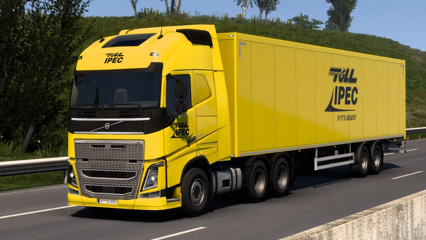 Volvo FH & SCS Box Trailer
