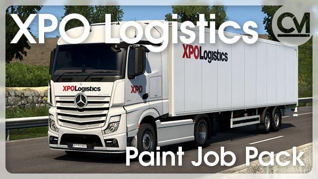XPO Logistics Paint Job Pack