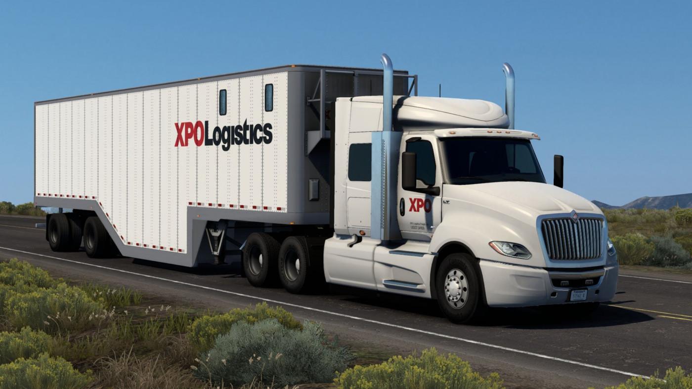 International LT & SCS Chip Van